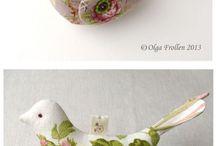 aves de tela