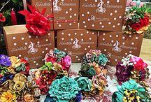 Ramilletes exclusivos Navidad 2015, #floresdeflamenca, #modaflamenca