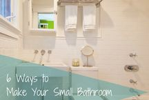 Tiny bathroom ideas