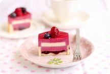 Sahne & Mousse Torten