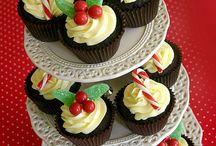 Cupcakes noel