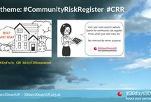 #prepared #UnderstandRisk / Understanding risk does not need to be complicated for better personal preparedness. Accessing and knowing your #CommunityRiskRegister is key. Check out these FREE UK RESOURCES from trusted partners.  Find out more about #30days30waysUK by visiting the website at http://30days30waysUK.org.UK