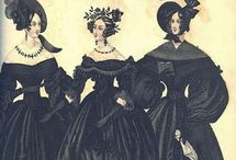 1830s / Historical reference Rather a lot of mourning!