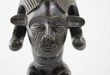 Chokwe Figural Palm Wine Cup
