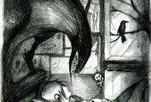Drawings (demons, depressiv, Sad and more)