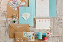 Invitations + save the date