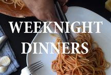 Weeknight Dinners / Easy and Quick Recipes that are perfect for the family