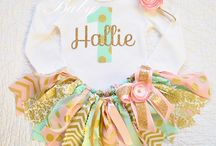 Brayleigh's FIRST bday ideas !! / by Holli Long