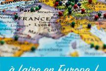 Voyages en europe