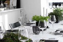 Modern tablescapes