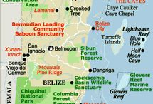 Maps of Belize / Different maps of Belize