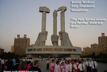 Statues and Monuments / A series of monuments in North Korea