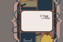 Scrapbook Templates Digi Free / by Melissa Dawes