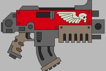 Bolter / a collection of pictures for up and coming 3D models
