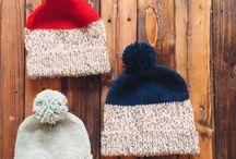 шапка / приклади плетених головних уборів