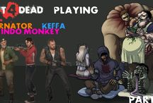 Left 4 Dead / Playing Left 4 Dead with my friends Fearnator and Keffa.