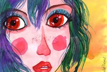by Isabel Hierro / scketches, illustrations and more
