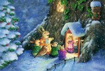 Retrouvailles de la famille à Noël