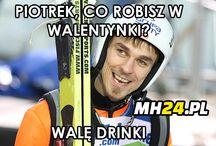 Skoki narciarskie memy / Memy o tematyce skoków narciarskich