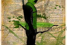 Green arrow / Everything green arrow related