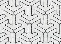Color Story: Black & White / Classic black & white mosaics.