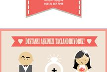 JUST MARRIED! / My Wedding Card Design