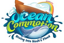Ocean Commotion Clip Art / Get ready to dive into God's Word at Ocean Commotion Vacation Bible School 2016! Kids learn about Noah and the Great Flood!