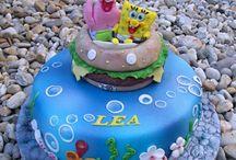 Sponge Bob Cakes