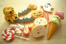 Polymerclay miniature foods etc