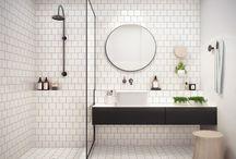 Apartment bathroom / by Un jour de moins Designs