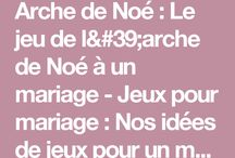 mariage jeux animations