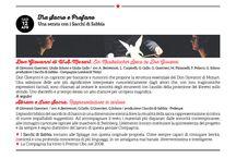 Stagione 13/14 Tra sacro e profano Una serata con I sacchi di sabbia / sab 12 aprile ore 21 Abram e Isaac Sacra Rappresentazione in cartoon + Don Giovanni di W.A.Mozart