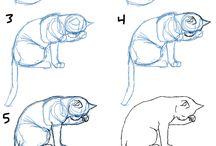 tegne katt