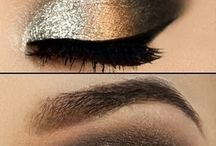 maquillaje de ojos de noche