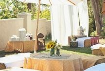 Garden  & Outdoor Weddings / Weddings held outdoors or in a garden can have an almost enchanted feel to them. Here are some ideas to help get you started!