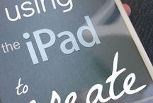 using the ipad to create