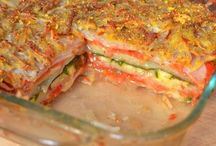 lasaña con verduras