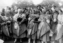Scottish Fishwives 1930s