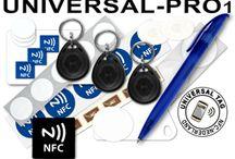 NFC Universal Kits / Kits met tags die gegarandeerd werken op elke NFC- telefoon!