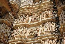Hindu temples, gods, sculptures, - Hinduskie świątynie, bogowie, rzeźby.. / https://pl.wikipedia.org/wiki/Religie_w_Indiach
