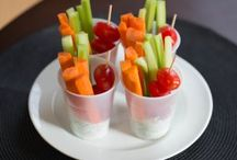 Healthy appetizers / All healthy appetizers for tailgating or parties. / by Misty Ostler
