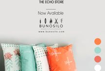 The Echo Store at Bunosilo / Comfy Cushions are now available at Bunosilo