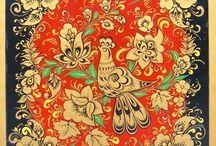 Russian folk art / russian folk art