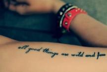 Tattoos / by Randi D'Ambrosia