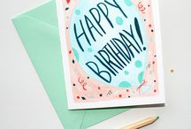greeting cards / A fun and cheerful way to send delightful birthday wishes! / by michelle mospens
