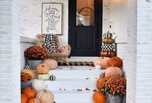 Front porch seasonal decorations