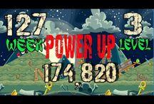 Angry Birds halloween Week 127 power up / Angry Birds Friends Tournament  halloween Week 127  all Levels high score power up for 20 october , 2014  Angry Birds Friends Tournament walkthrough Week All Levels 3 star strategy High Scores no power up and power up