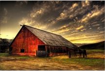 barns and farms :)