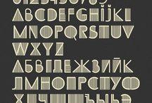 """Letters & more / Handlettering alleen dan het alfabet in """"lettertypes"""""""