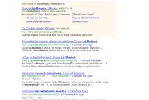 Posicionamiento web latiendadejm / Capturas de pantallas de posicionamiento web